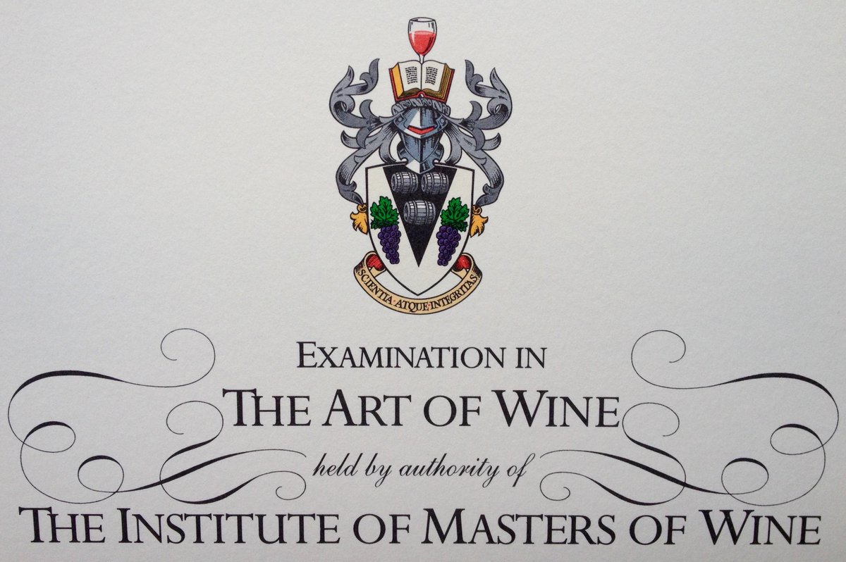 We're delighted to finally announce the 19 new Masters of Wine. See more here http://t.co/mOley9x5qF #NewMW. http://t.co/RxHJx4p6cK