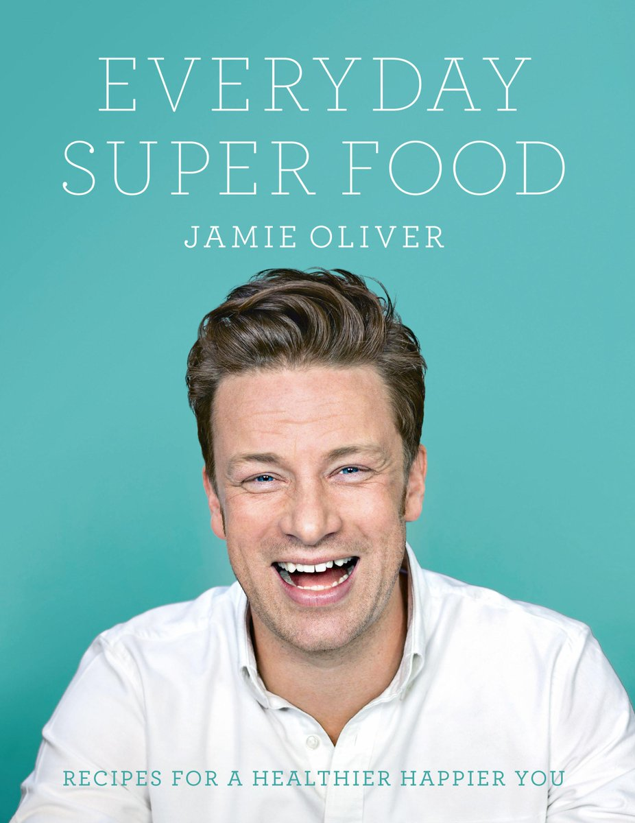 RT @TheHappyFoodie: Follow + RT to #win 1 of 3 SIGNED COPIES of @jamieoliver's Everyday Super Food! T&C: http://t.co/mDrcpSzVNY http://t.co…