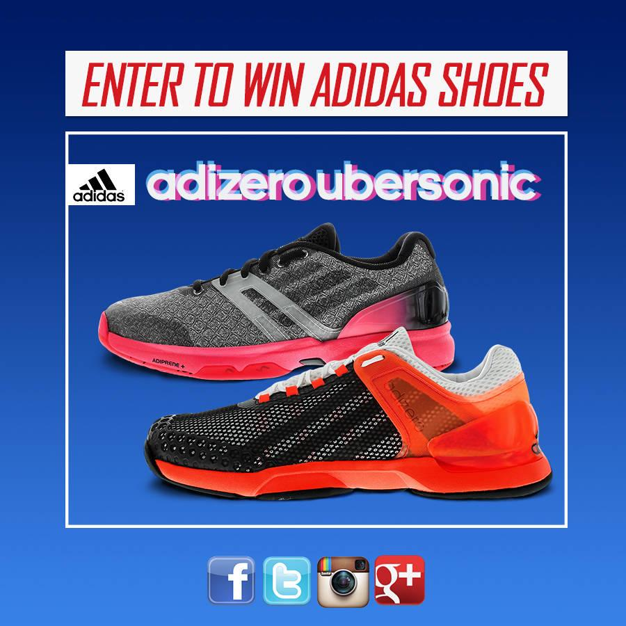 It's giveaway time at @TennisExpress!  (because you deserve it!) Retweet for a chance to win @adidas Ubersonic shoes. http://t.co/SWCagJ5PdA