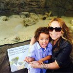 Rock rock the planet rock! Don't stop !!! #mariahcarey @bronxzoo #laborday #zoo
