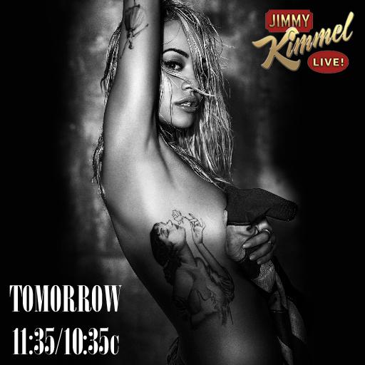 Fittings for @jimmykimmel all day ???????????????? Tune in tomorrow 11:35/10:35c! #Kimmel http://t.co/kLoZAzyOYH