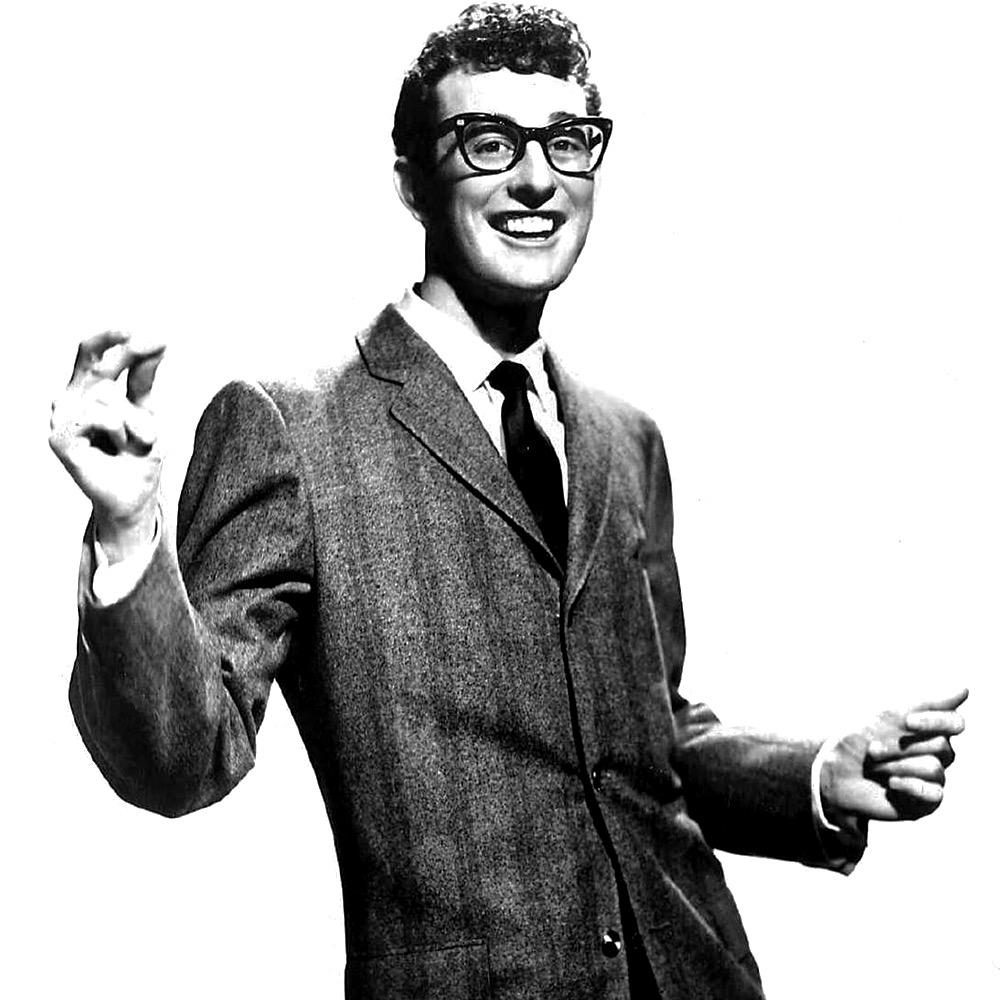 On this day in 1936 the influential singer-songwriter Buddy Holly was born in Lubbock, Texas. d. 1959 http://t.co/qPtXOEQLwD
