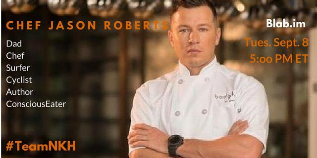 @ChefJasRoberts Talk up #nokidhungry #Blab ✌️ http://t.co/1kEecrrNiU