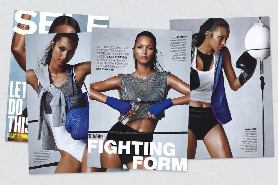 RT @VSSportOfficial: Fighting form: @LalaRibeiro16 in this month's @SELFMagazine! http://t.co/fPsMUKkmzo http://t.co/EgnhXP9vAt