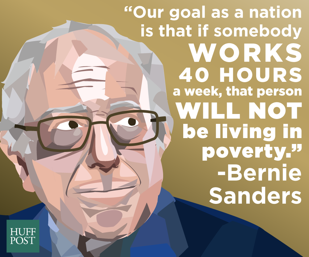 In honor of his birthday, here's some real talk from Bernie Sanders
