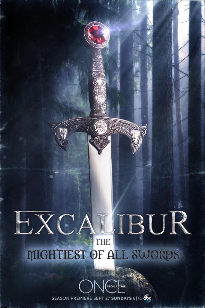 Excalibur is no ordinary sword! #OnceUponATime http://t.co/03pLI8aTC4
