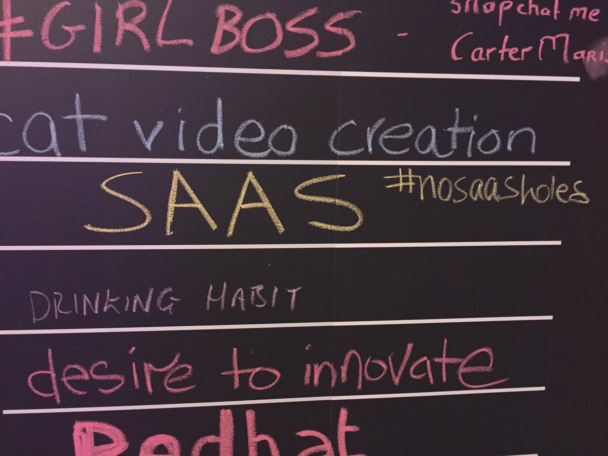 May have just discovered my new favorite neologism and hashtag at #inbound15: #NoSaaSHoles! http://t.co/Wte4x4wC6w