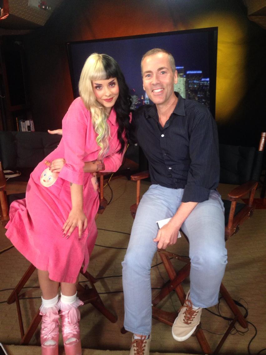 Total cutie & so talented @MelanieLBBH Melanie Martinez made my day! #crybaby http://t.co/CYN9O8w3r2