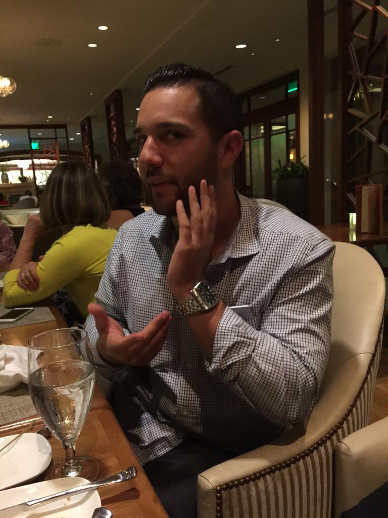 I just learned that @vincenzolandino makes watches!!  How cool and random #INBOUND15 http://t.co/ISQcjU47p0