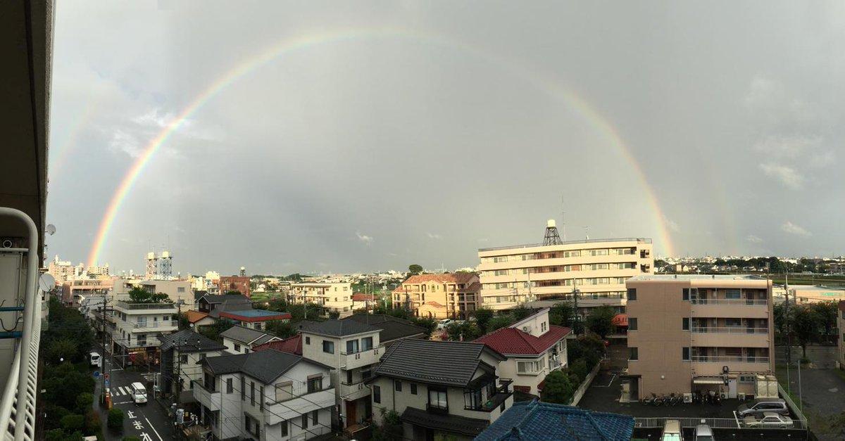 虹が出てた! http://t.co/qe6D1tAPBy