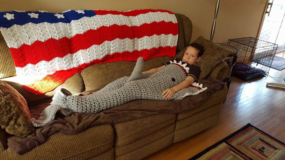 When novelty shark blankets go wrong http://t.co/2x7E00RCPe