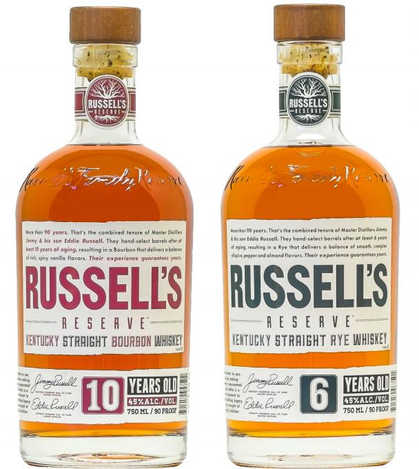 .@CampariAmerica Unveils New Packaging for Russell's Reserve Bourbons & Ryes #spirits http://t.co/ACWSuL8pAX http://t.co/jlOKZ2Td7o