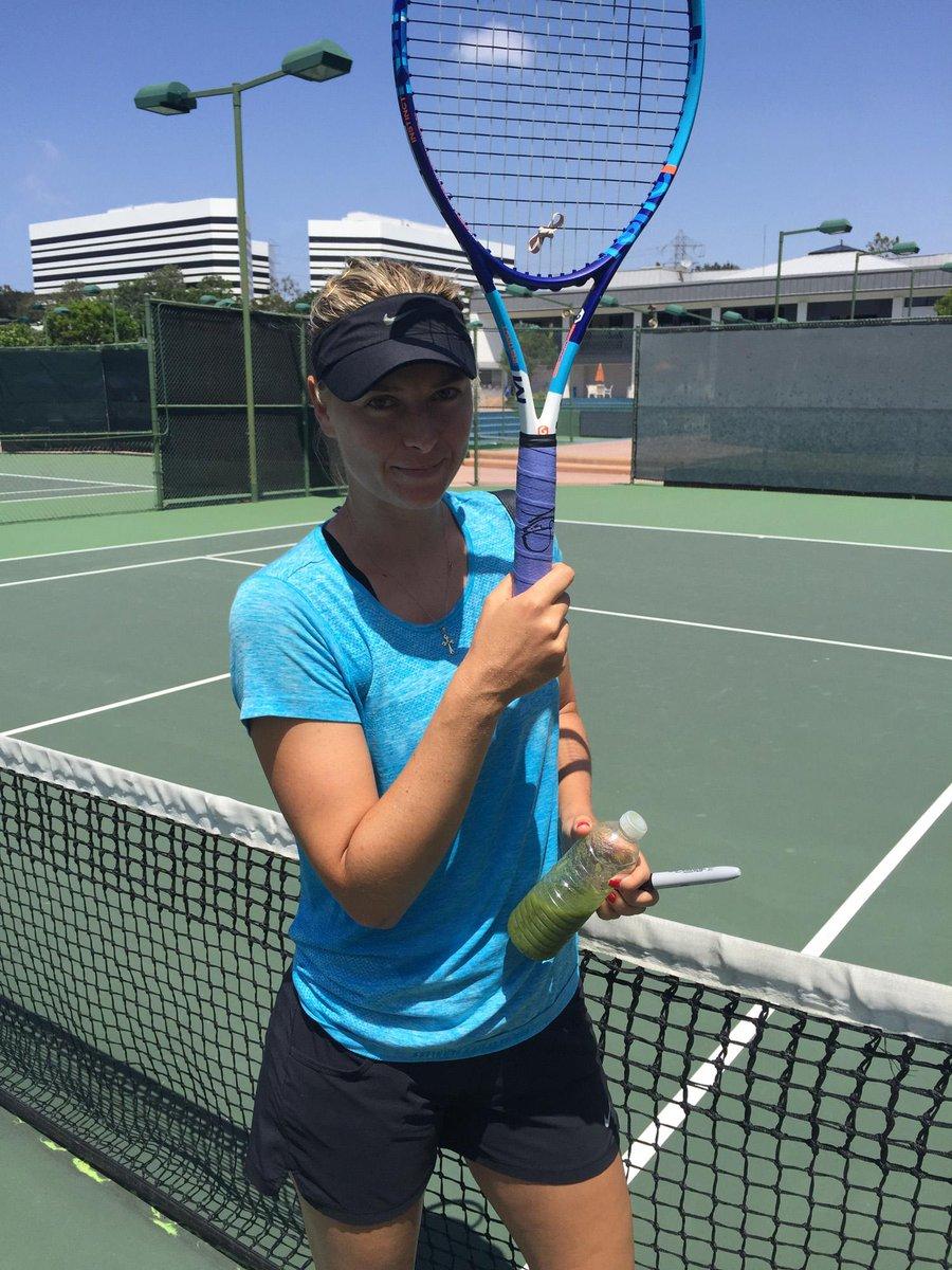 RT @Tennis_Ita: Vinci la racchetta firmata da @MariaSharapova con l'asta dell'Associazione AmicidiSean! http://t.co/mhzCcGlh8M http://t.co/…