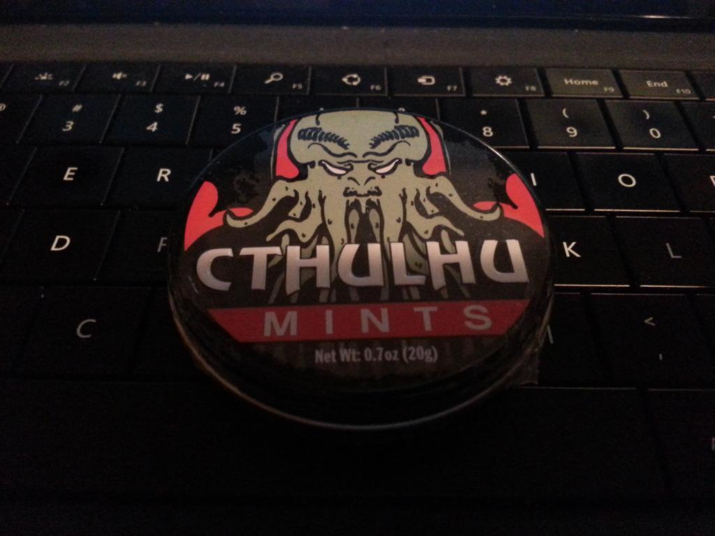 Cthulhu mints. http://t.co/vYpCYosh5E
