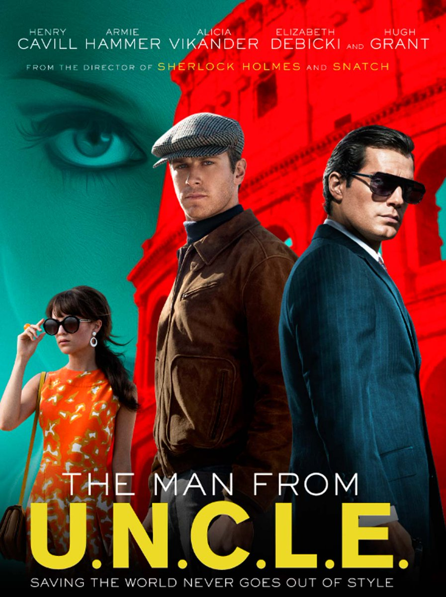 Stylish, smart, amusing, loved every minute of Guy Ritchie's @ManFromUNCLE yesterday. A must-see movie! http://t.co/oFfbryRyoe