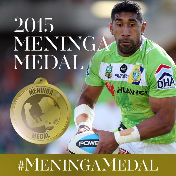 The 2015 Meninga Medal goes to @kidceezar! Re-tweet to congratulate Sia! #MeningaMedal #BleedGreen http://t.co/ihYQ4JJEum