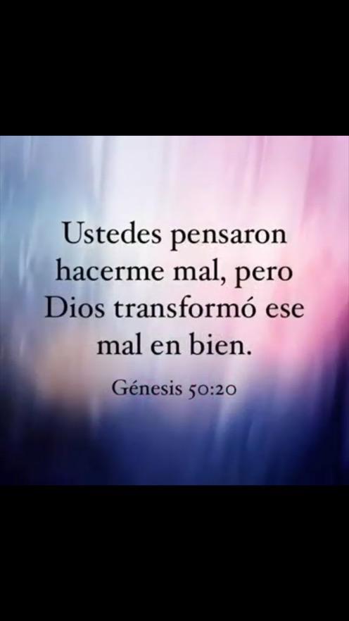 Dios siempre cambia ntas circunstancias para bien
