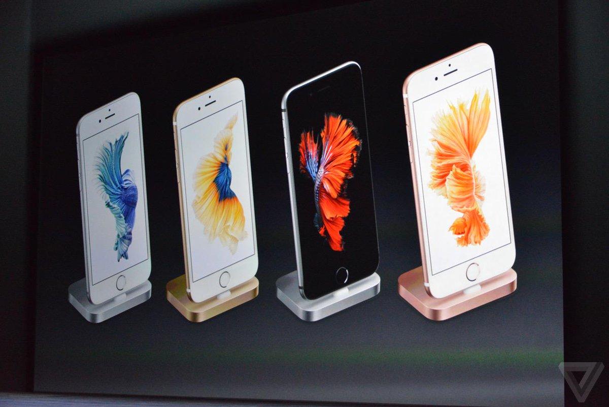 แท่นชาร์จตามสีเครื่อง เพื่อ ? #iPhone6sTH http://t.co/muIJ52hKJ5