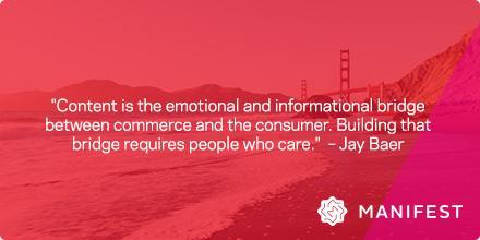 .@jaybaer asked, do you love content marketing enough? We do! #CMWorld http://t.co/I0q7ZN9KS2