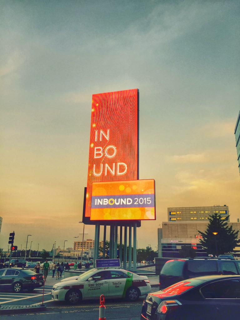 """""""The most limited commodity you have is someone's attention."""" ~ @tim_ash #INBOUND15 #CRO http://t.co/mRO2opTA2i"""