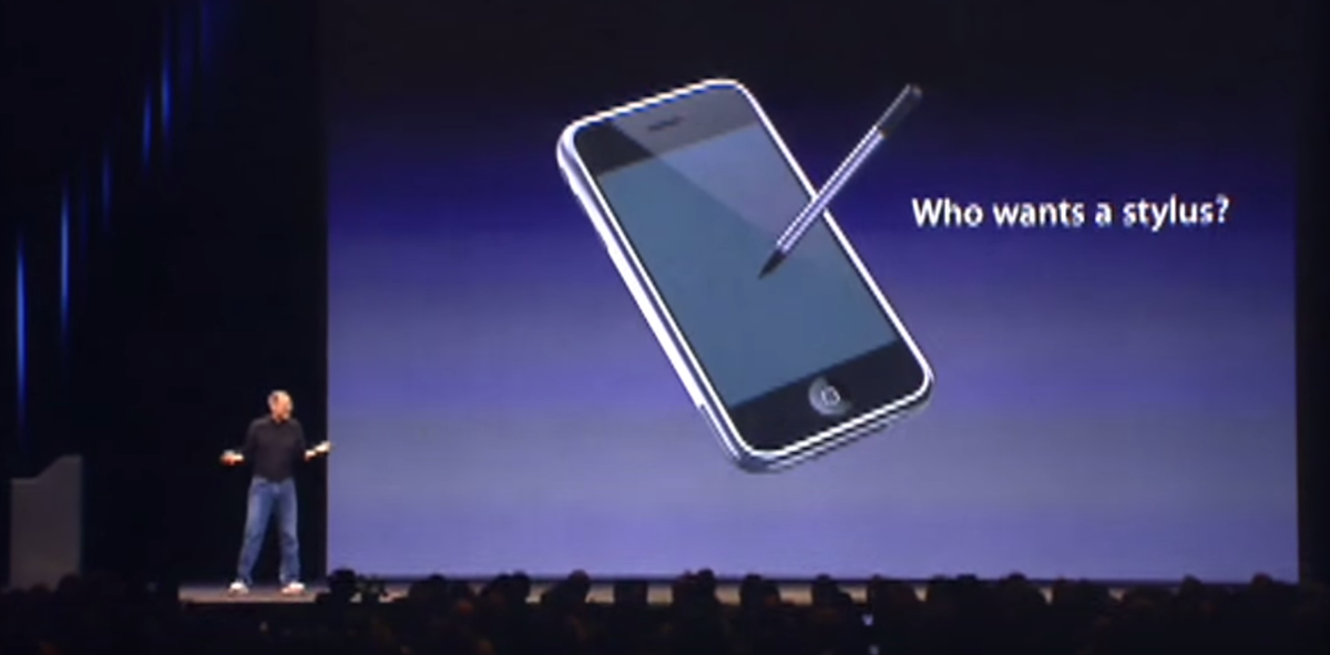 For your consideration regarding the apple event today.  'Who wants a stylus?'  https://t.co/y2dkis8h6c http://t.co/t9BbxbpFLS