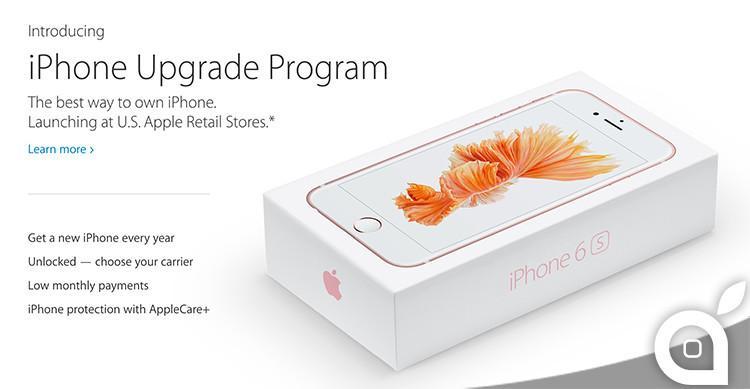 Apple lancia l'iPhone Upgrade Program che permette di avere il nuovo iPhone ogni anno http://t.co/2IqU9Mowt2 http://t.co/CLJ1Sfub4k