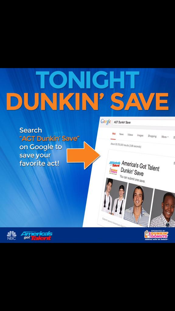 NEED YOUR HELP!! Vote to save me on #AGT ASAP!!! Google: AGT DUNKIN SAVE I need votes Only 30mins!!!... #boobissippi http://t.co/HLC8PzuJIy