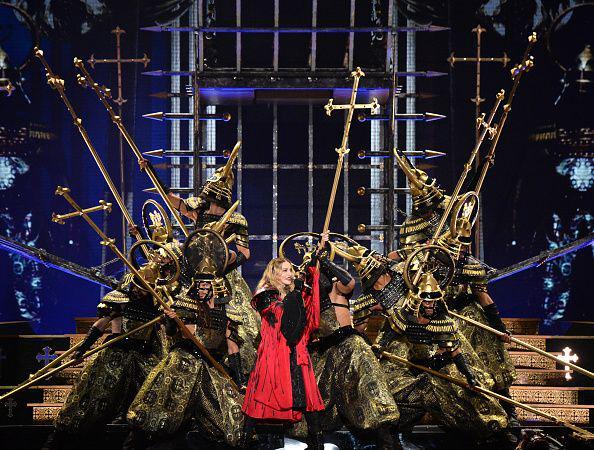 #RebelHeartTour #Madonna opening night in Montreal. http://t.co/ja5g83NONp