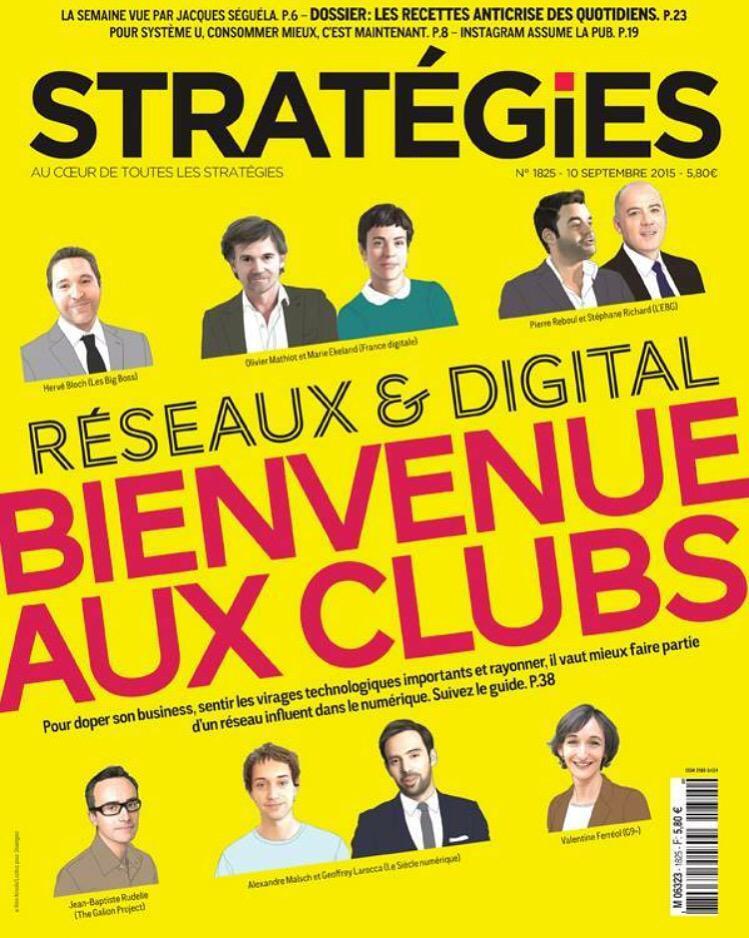 Une de Stratégies bien cool avec @netmad @oliviermathiot @jbrudelle cette semaine ;-) http://t.co/nnTcdUHjHq