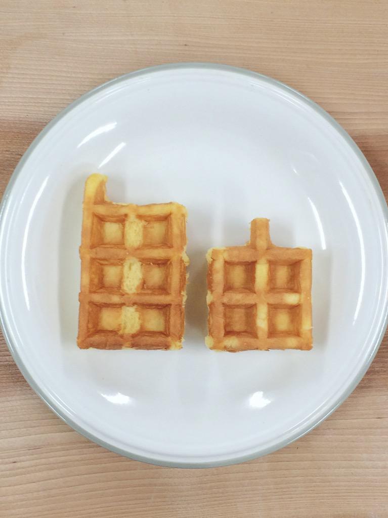 ワッフルの自由な食べ方 http://t.co/FH6Jw0uG9w