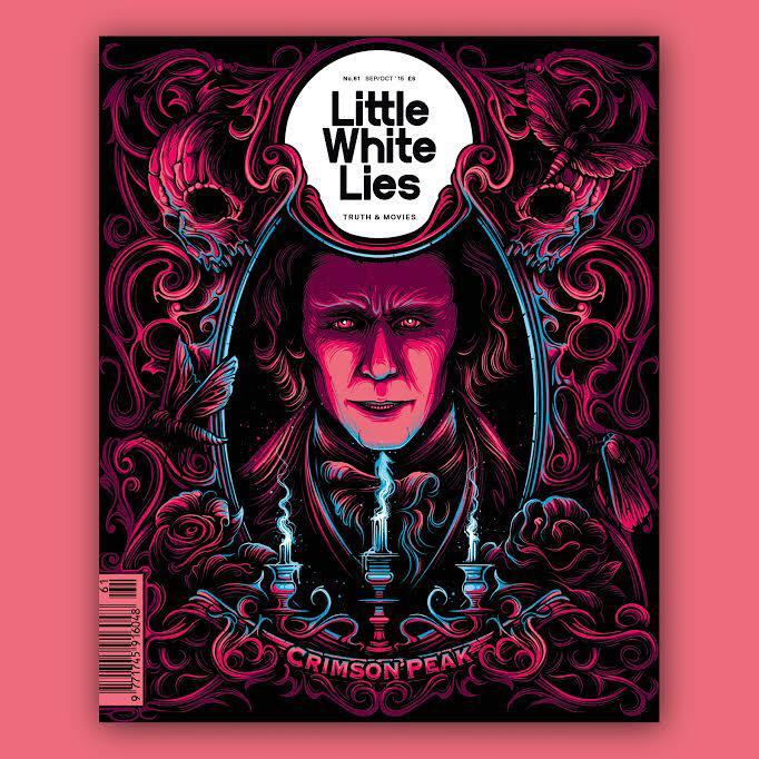 I did the Crimson Peak cover for the excellent @LWLies this month. You can pre order it now! http://t.co/Eb9Wpjpmhd http://t.co/T19diOTQKq
