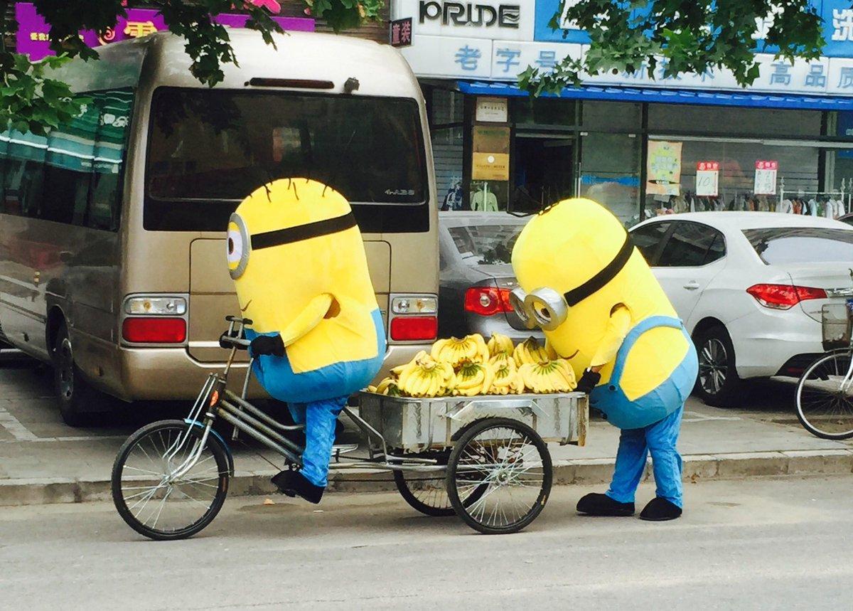 悪質なバナナ売り露天商を逮捕 @北京  #转发微博 http://t.co/yeiRrecubG