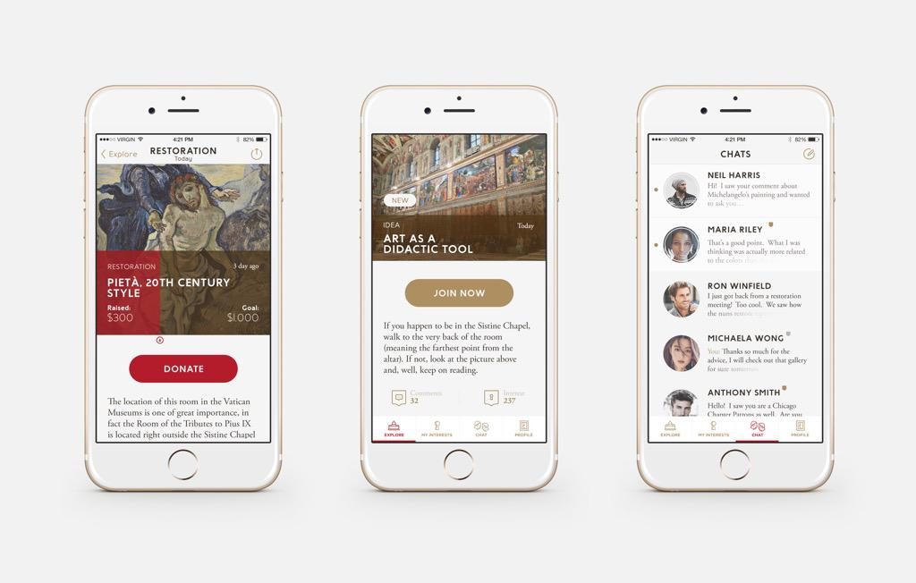 RT @RobLoCascio: Download Patrum the first insider app for #vaticanmuseum. http://t.co/NdwHQhgpnb created by #dreambigfoundation http://t.c…