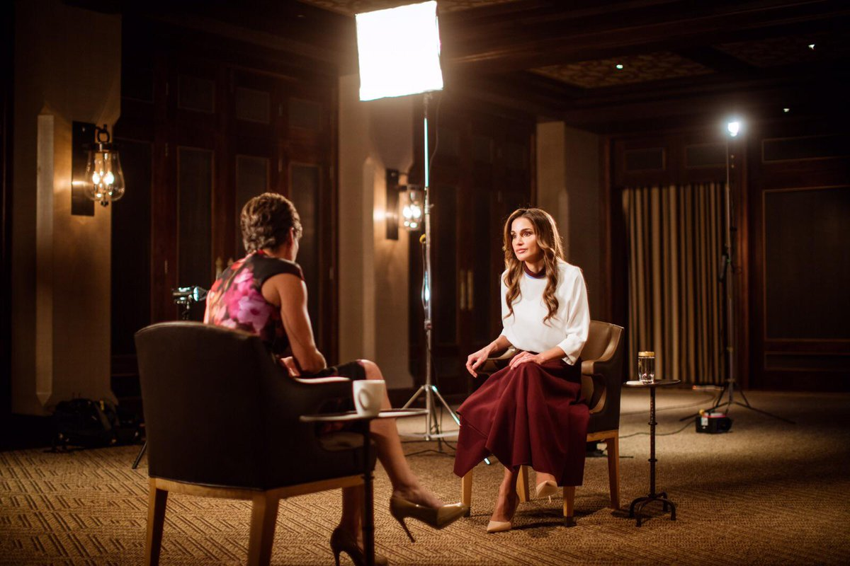 ".@QueenRania: ""This is no longer just a Middle East problem or is it exclusively European."" Full Intv 6pm #Amman time http://t.co/SxYo5NvH2m"