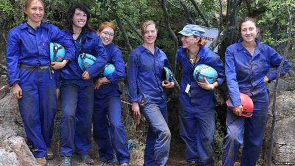 6 women cavers played a crucial role in discovery of new human species #Homonaledi #STEM http://t.co/FbgWwkDY2u http://t.co/twovYy9LKX