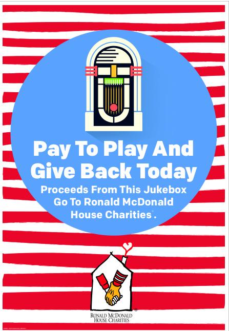 Give Back today at My McDonalds in East Orange