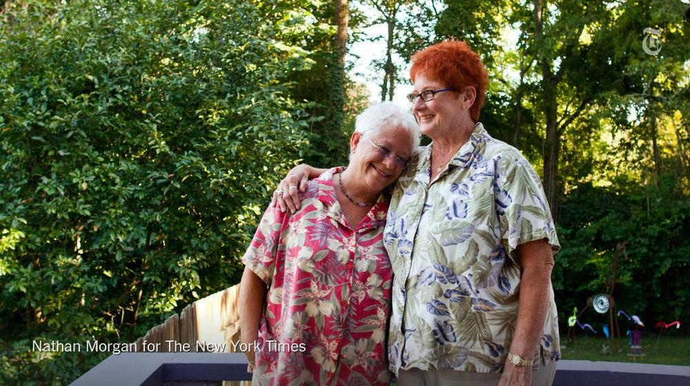.@therealjanisian and her wife Pat Snyder reflect on growing acceptance for lesbian couples http://t.co/gcN08cREet http://t.co/IGhJgE12nO