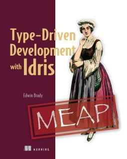 New MEAP! Save 50% on Type-Driven Development with Idris w/ code mltdidristw at  https://t.co/31kuEpu5nE #IdrisLang http://t.co/pIrHRTHhUQ