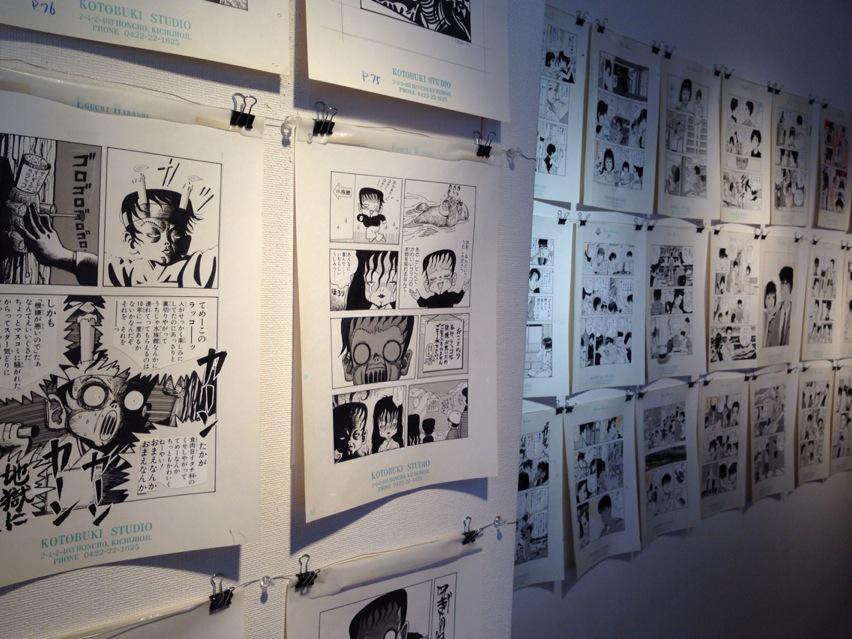 江口寿史展 KING OF POP ANNEX、実際見るとやっぱり唖然とする。ほんっと本人じゃないと無理。学生がこんな展示方法提案してきたら全力で張り倒す(笑)。 http://t.co/a42ryX1AlL