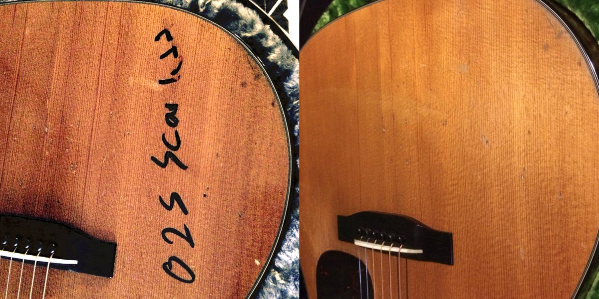 My 1954 Martin has been faithfully restored. Grateful thanks to @AirCanada for being so helpful with zero fuss. http://t.co/WjpcJGmAch