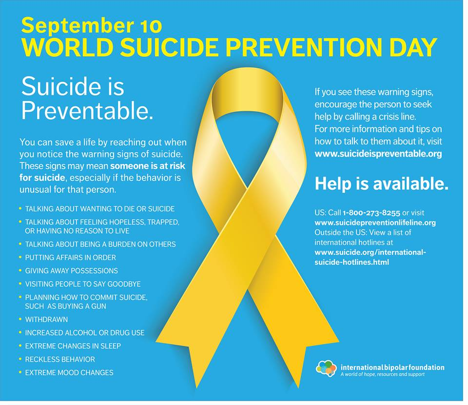 Light a candle at 8pm ET for all those we lost and all those suffering. #WorldSuicidePreventionDay #AwarenessMatters http://t.co/8RAfYHxxTC