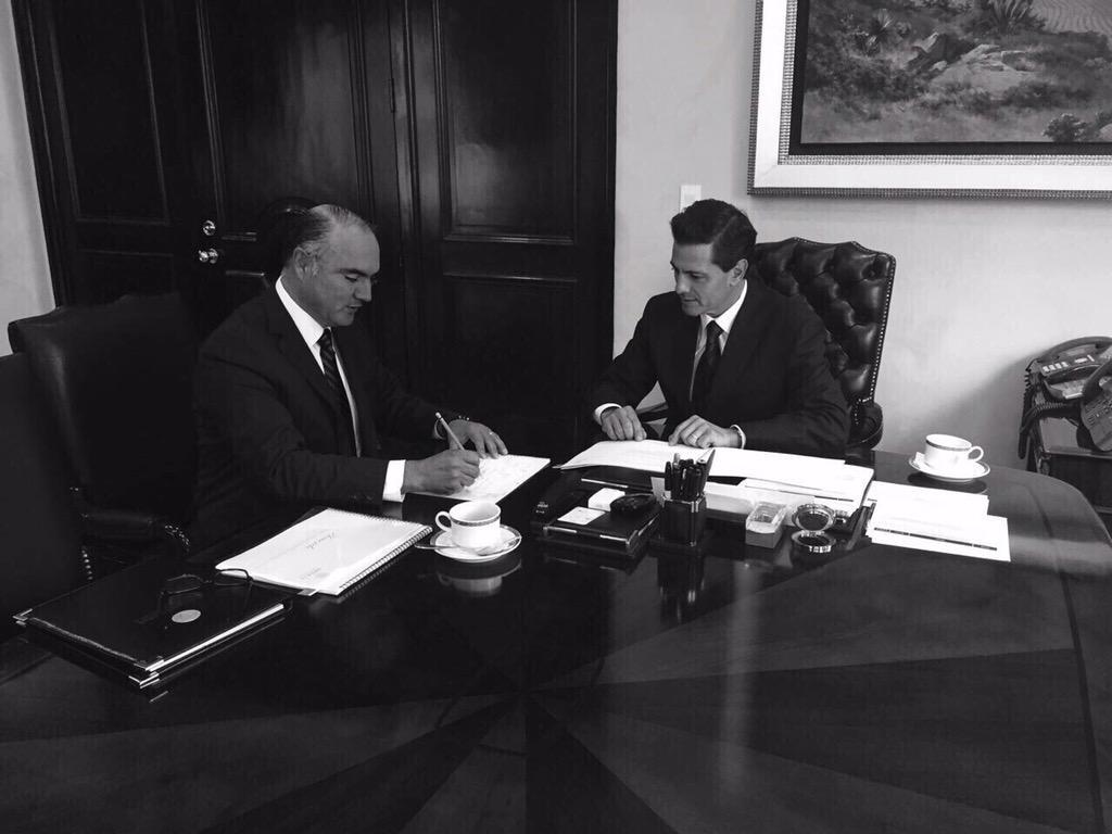 Acuerdo con el Sr. Presidente @EPN http://t.co/qcvcYXYSsH