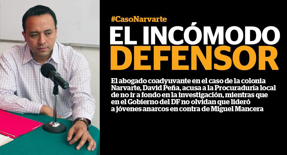 """El incómodo defensor"" por @IcelaLagunas. http://t.co/B4qSD12hzv #casoNarvarte #PGJDF. http://t.co/kREImeJNxb"