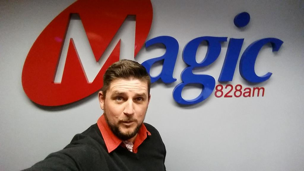 As of 1 October 2015 you can hear @GuyMcDonald on http://t.co/GdQzh100VL @Magic828am Mon - Sat. 6-9am!