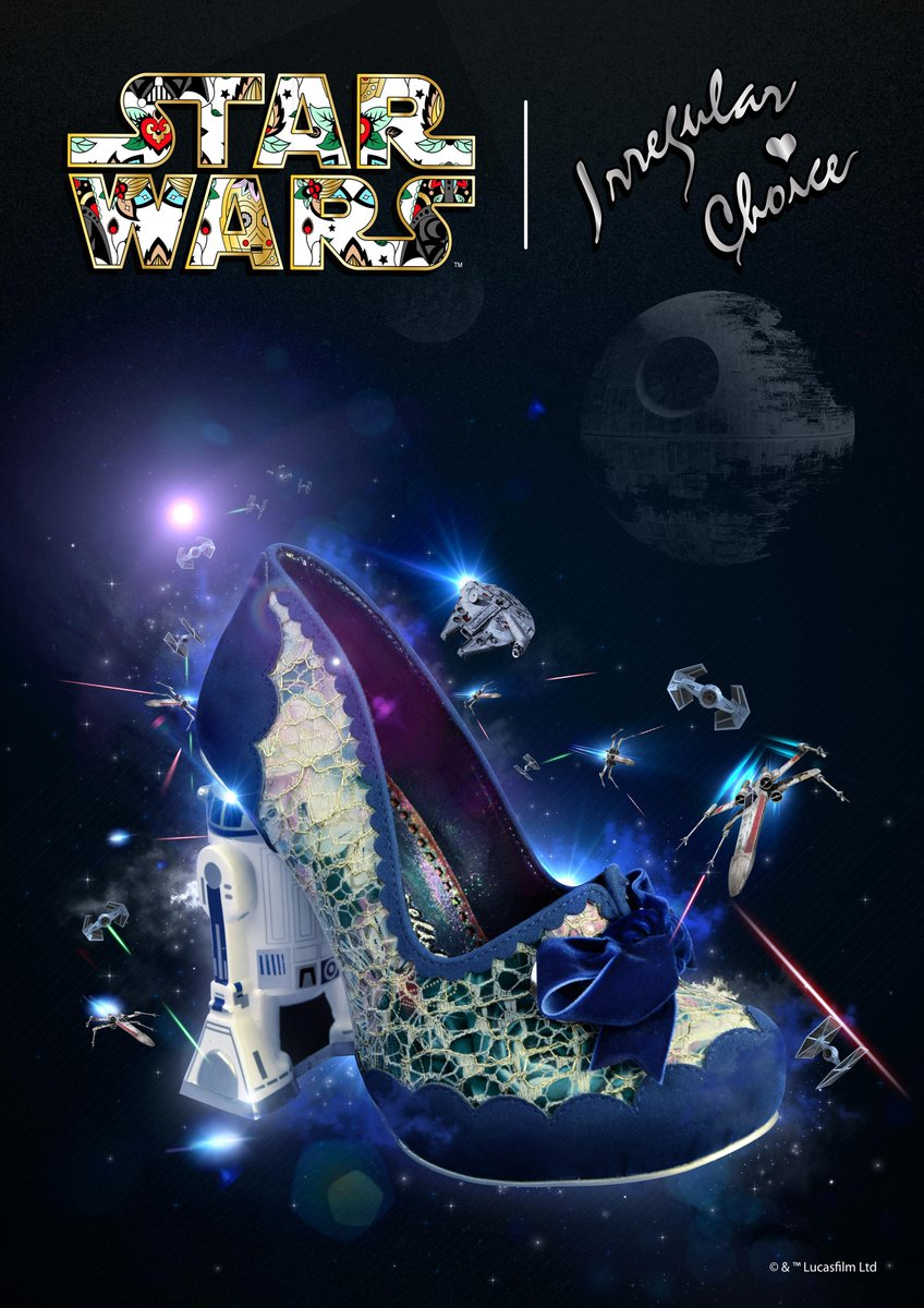 """R2-D2 where are you?"" Irregular Choice | @starwars landing soon worldwide... #starwars http://t.co/OqBEdgOuNu"