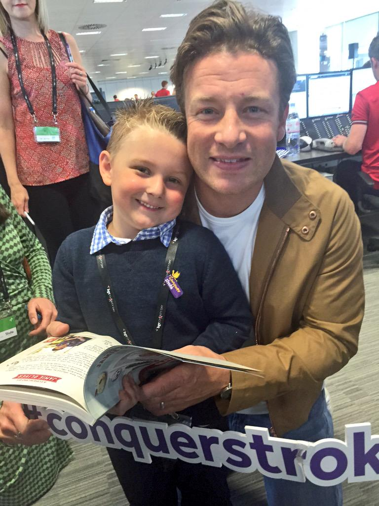 RT @OlliesKitchen: Just met the amazing @jamieoliver at the @BGCCharityDay what a fantastic day for so many great causes @TheStrokeAssoc ht…