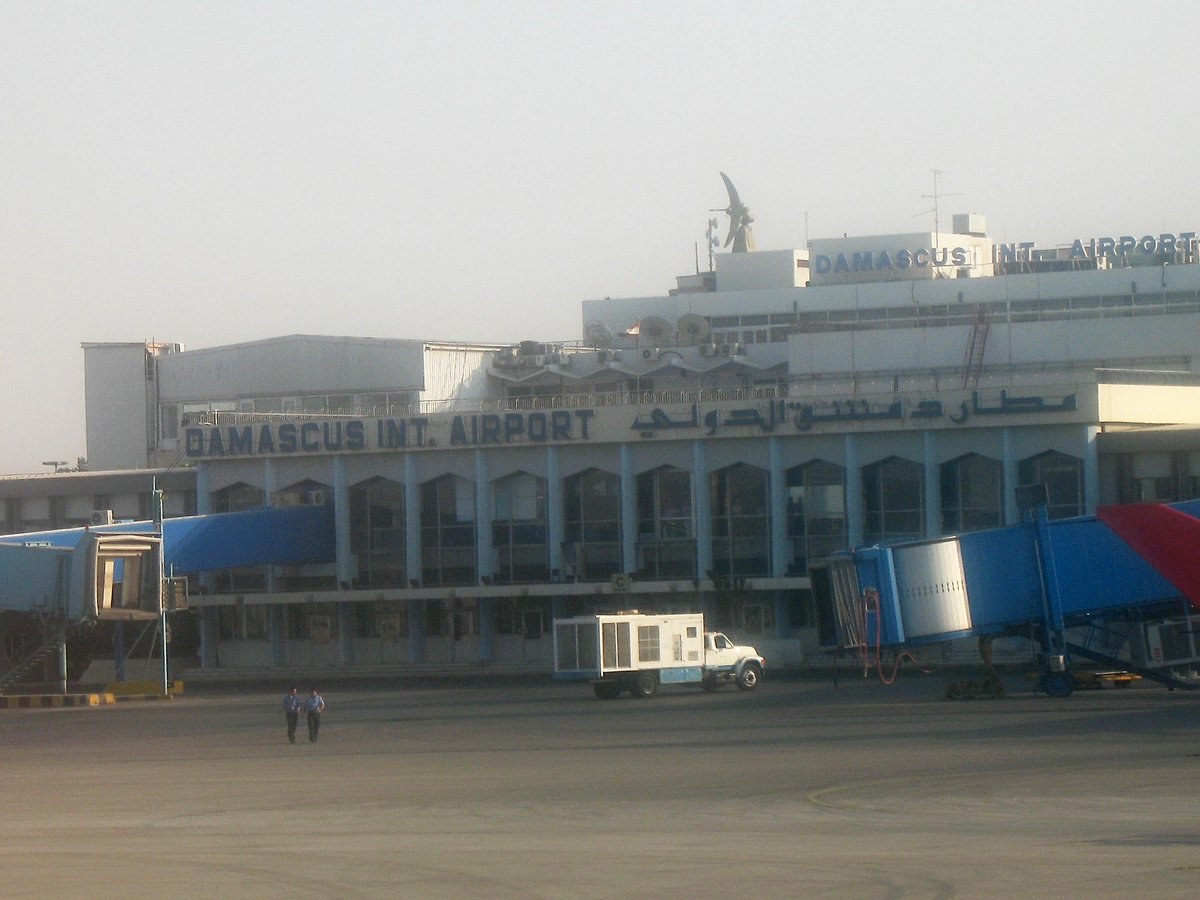 #Russia running #Damascus International Airport: report #Syria http://t.co/J4nJXyeBy3 http://t.co/iwCDAbWYjC