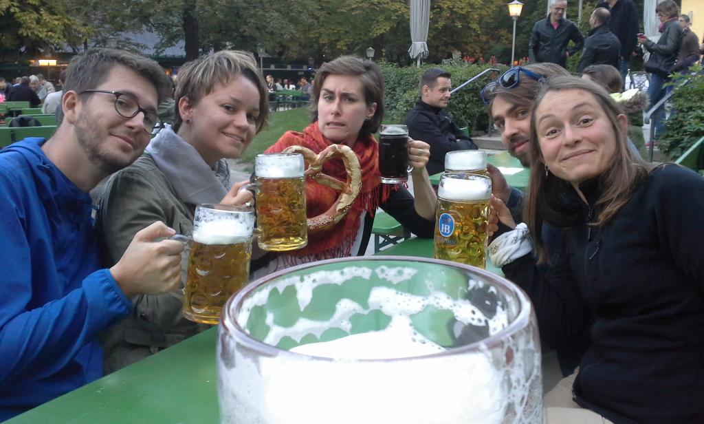 Capitale de la bière entre amis  !! Yeah !