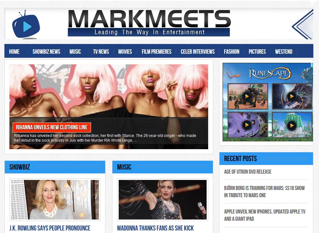 MarkMeets - Showbiz News, Music Reviews, Celeb Interviews, Film Premieres + Event Coverage http://t.co/3ZqcQyCiQV http://t.co/MwCfDtjLbD