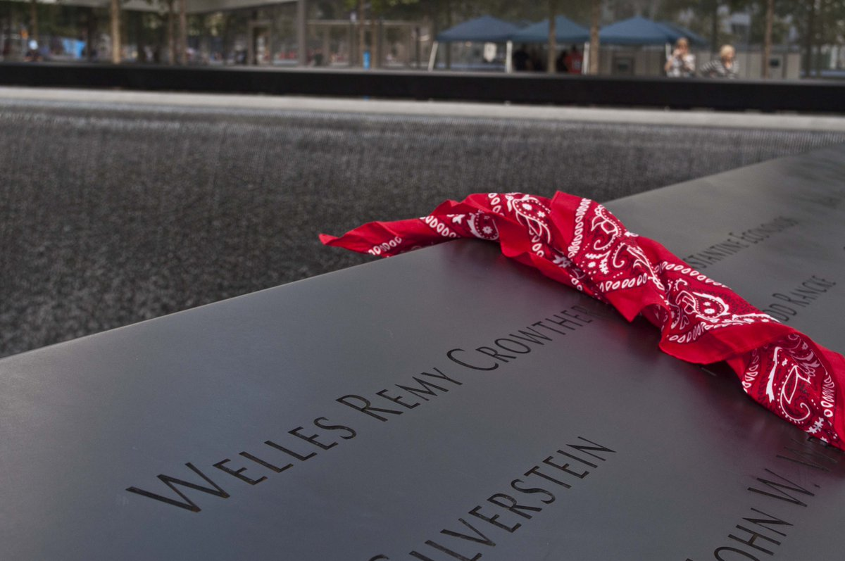 May the legacy of 9/11 hero, BC grad Welles Crowther continue to inspire. http://t.co/7e3F631uET #NeverForget http://t.co/Zx0ibHw6LL